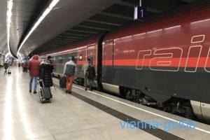 ウィーン空港から市内のアクセスは国鉄が便利
